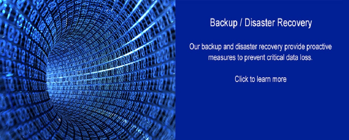 Managed Backup & Disaster Recovery